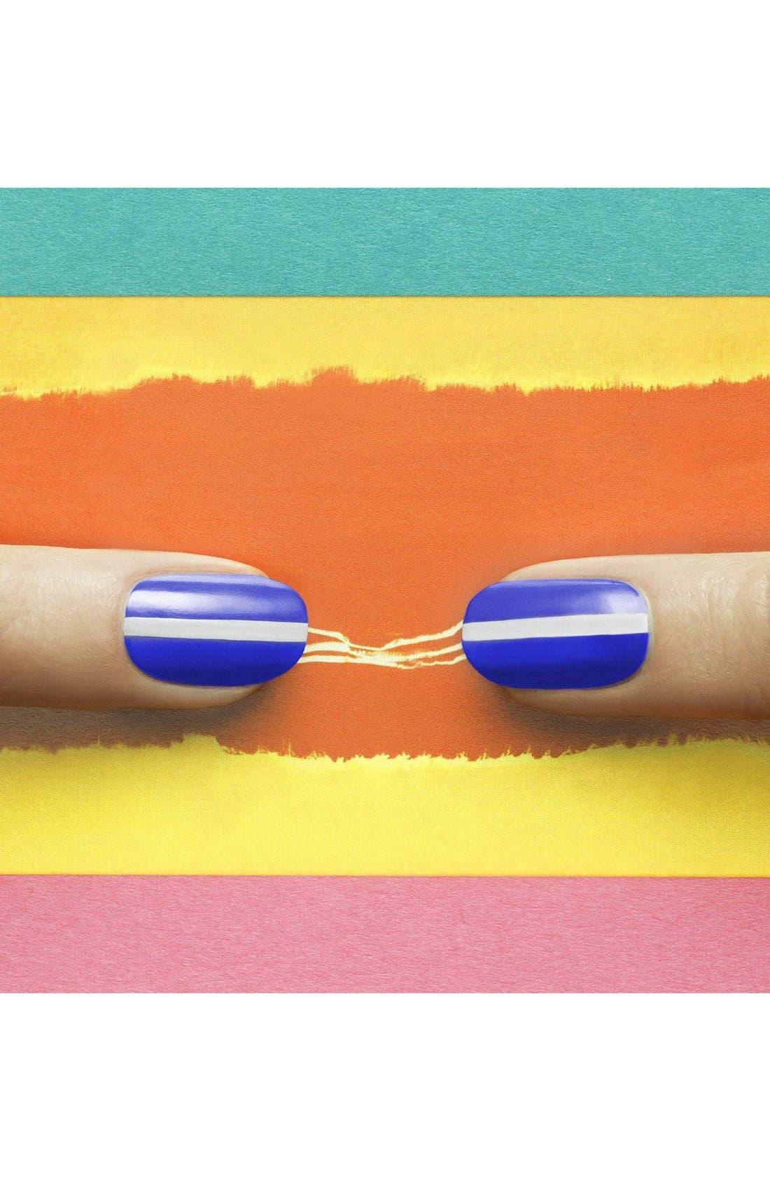 ,                             'Cool Blue' Nail Lacquer,                             Alternate thumbnail 3, color,                             400