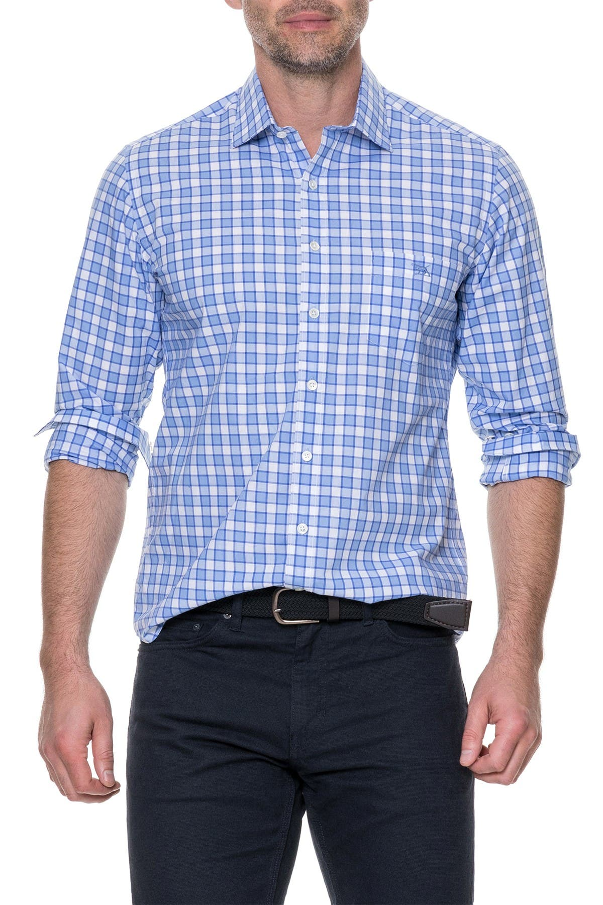 Image of RODD AND GUNN Cedarwood Long Sleeve Shirt