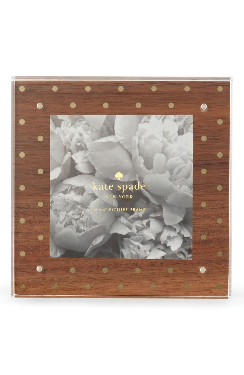 KATE SPADE NEW YORK acrylic picture frame, Main, color, 200