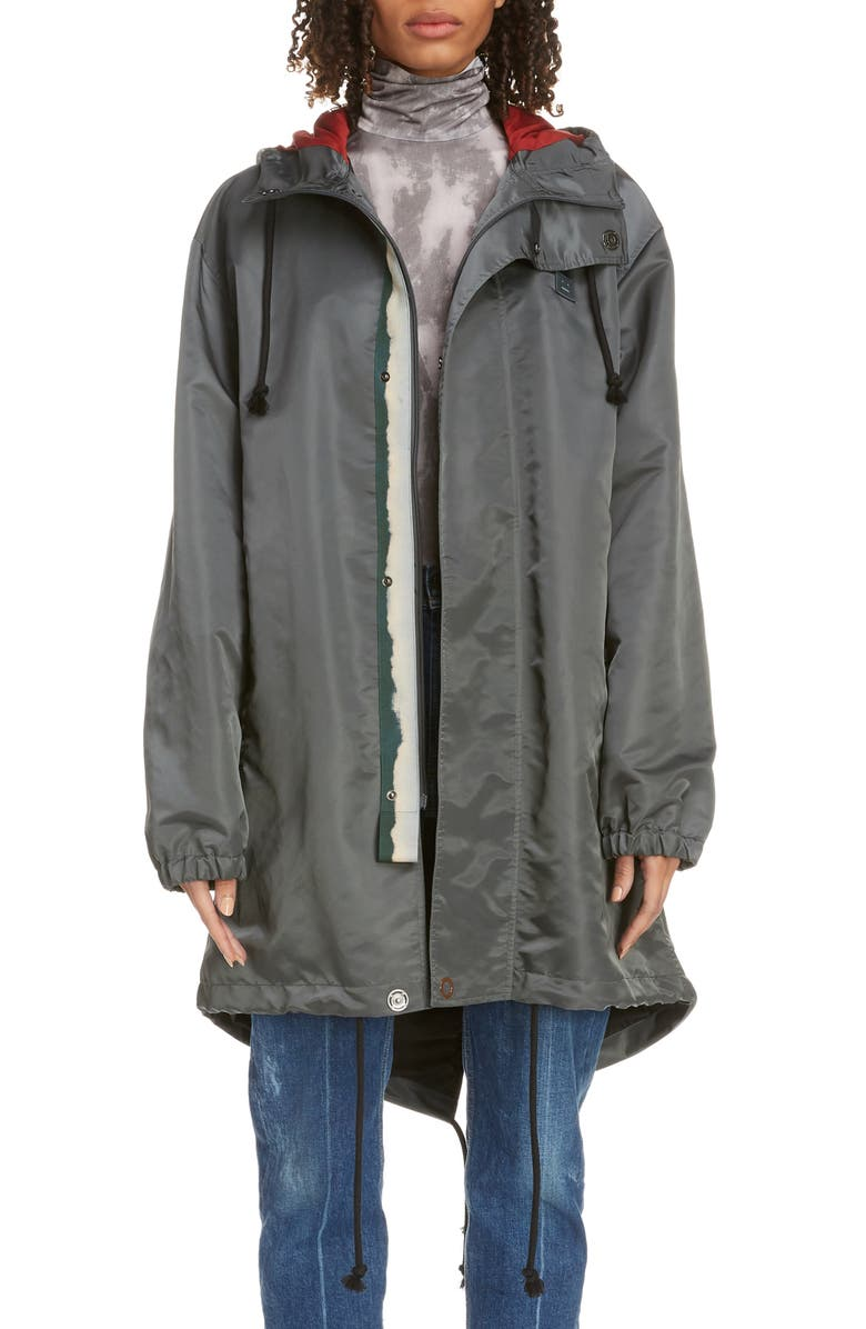 ACNE STUDIOS Osborn Parka, Main, color, DARK GREY