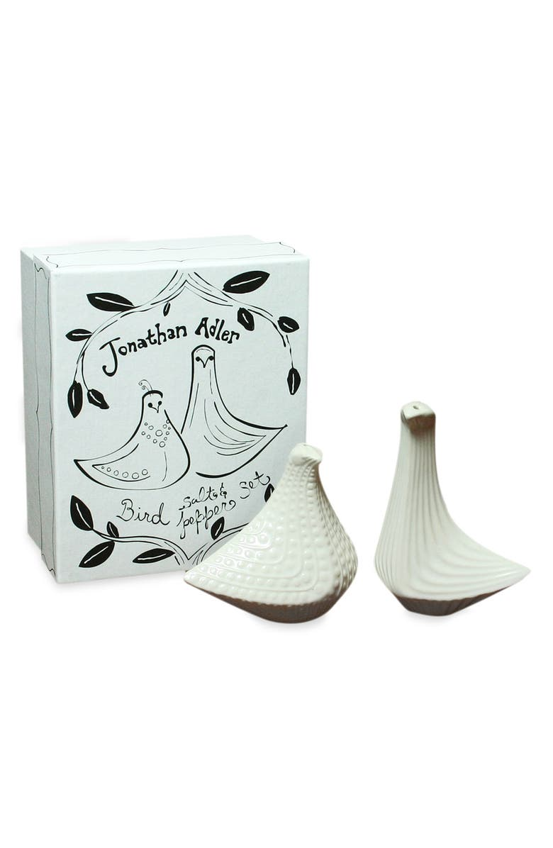 JONATHAN ADLER 'Mr. & Mrs. Muse' Salt & Pepper Shakers, Main, color, 100