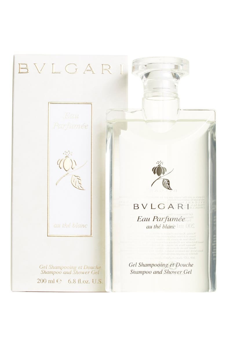 BVLGARI 'Eau Parfumée au thé blanc' Shampoo & Shower Gel, Main, color, NO COLOR