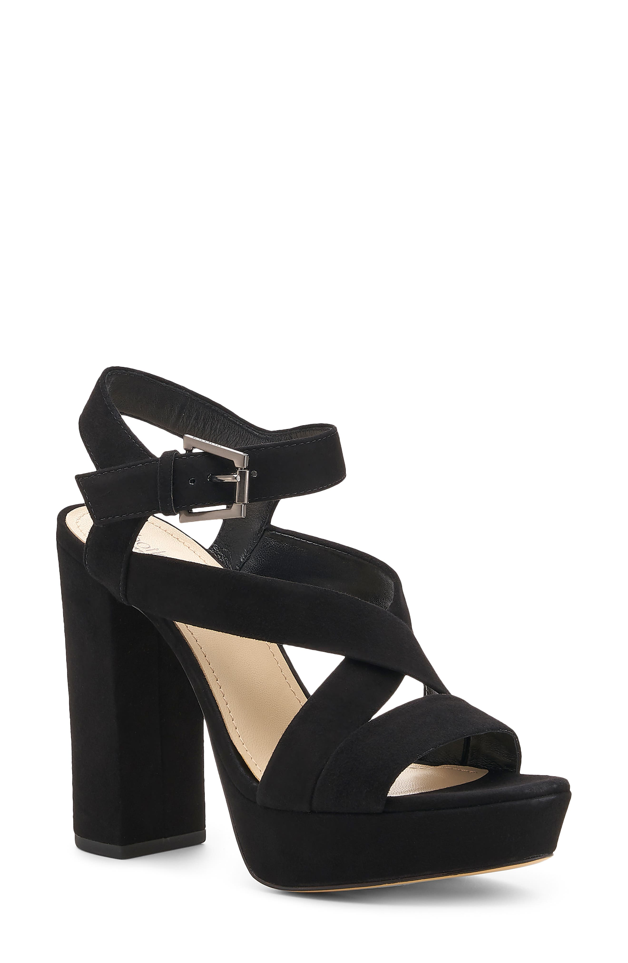 A towering block heel and platform boldly elevate a quarter-strap sandal that\\\'s ready to hit the dance floor. Style Name: Botkier Phoebe Platform Sandal (Women). Style Number: 6056522. Available in stores.