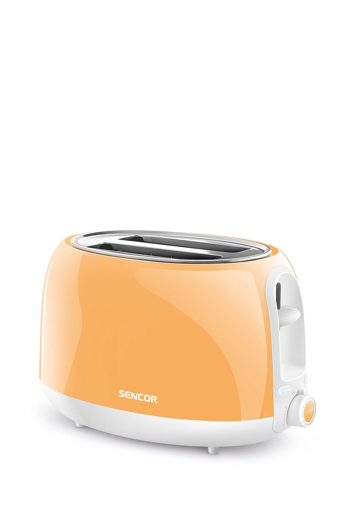 Image of SENCOR Orange 2-Slot Toaster