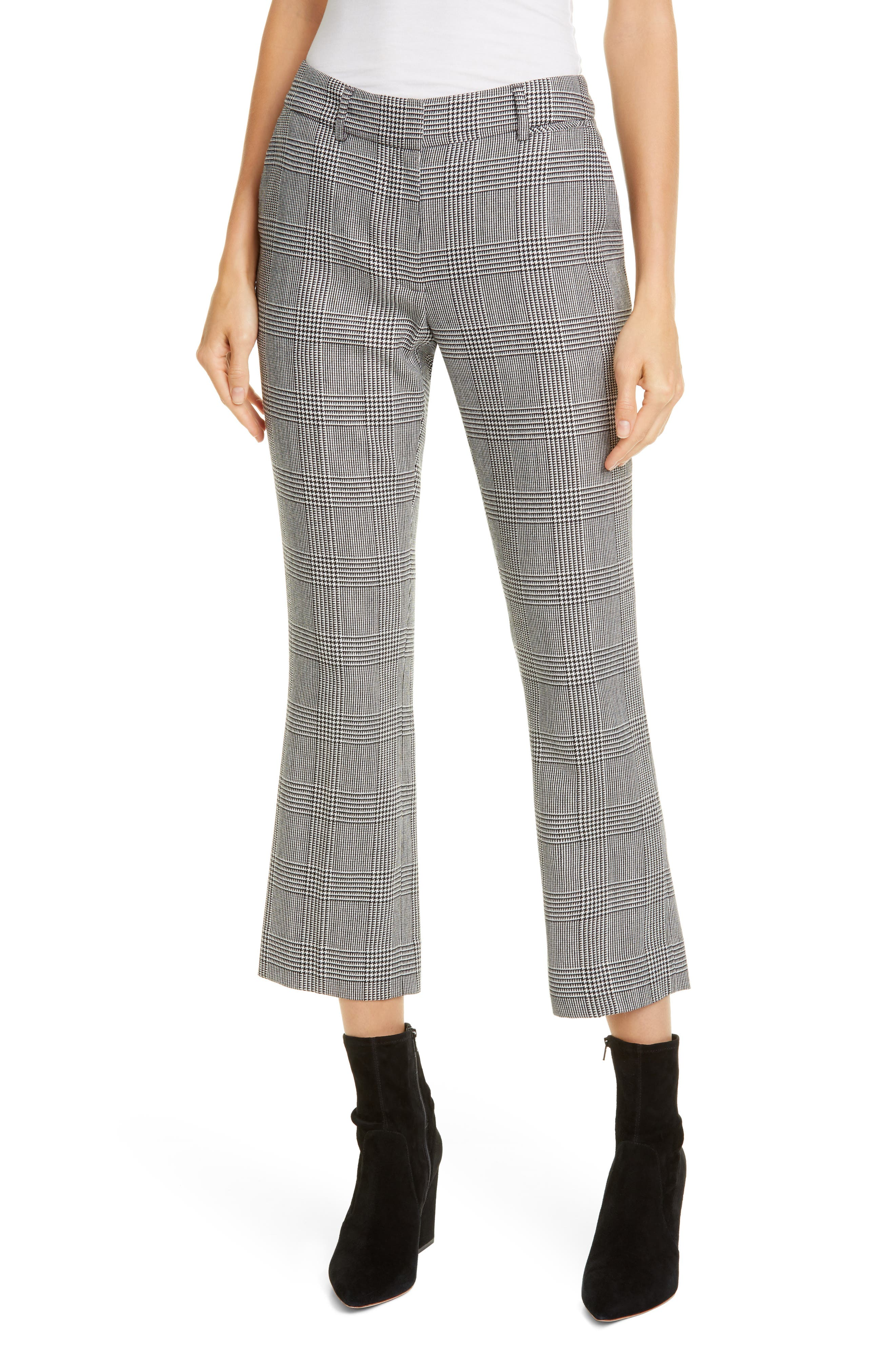 Frame Pants Perfect Stripe Crop Trousers