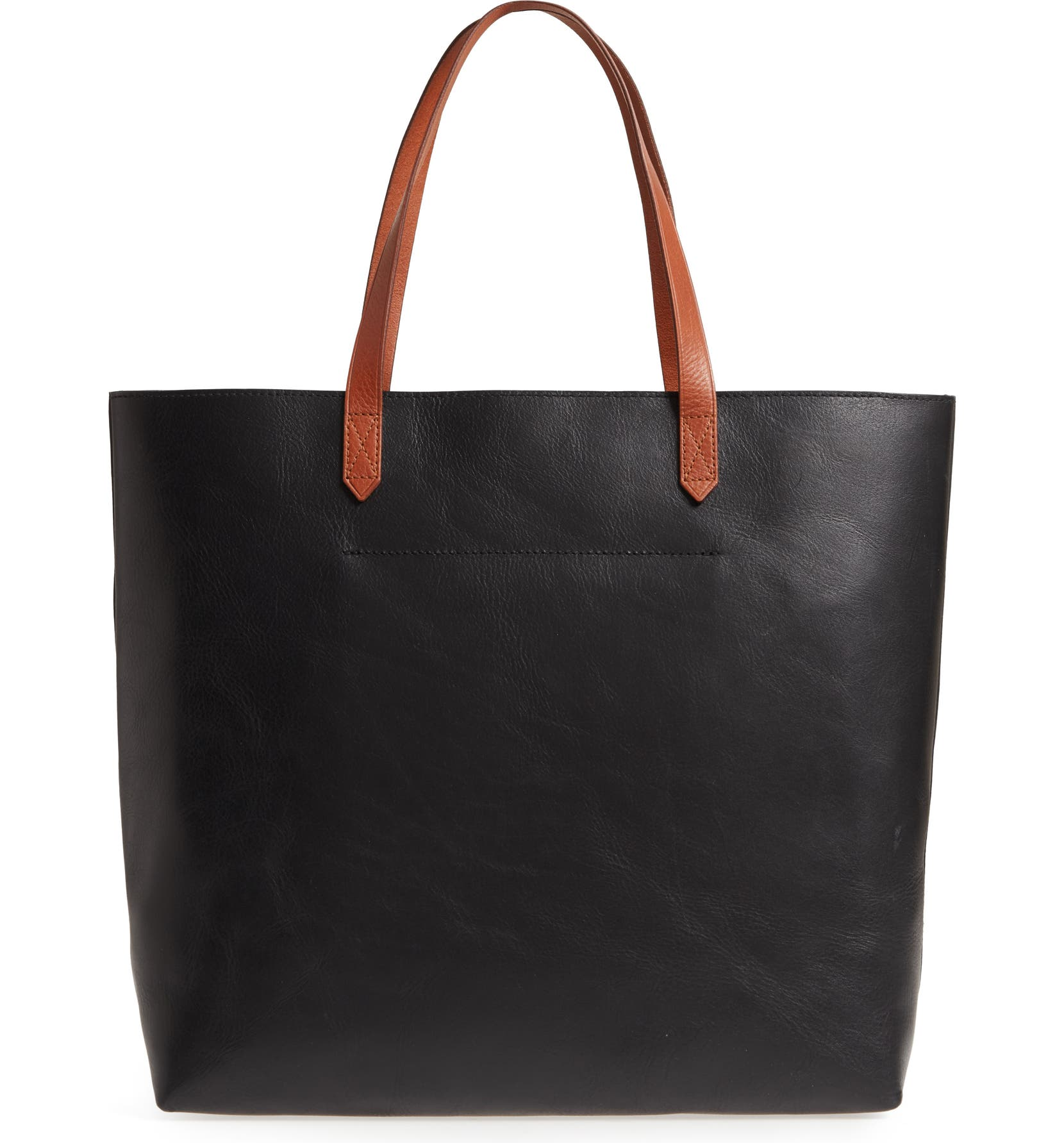 53772a737caf Madewell Zip Top Transport Leather Tote   Nordstrom