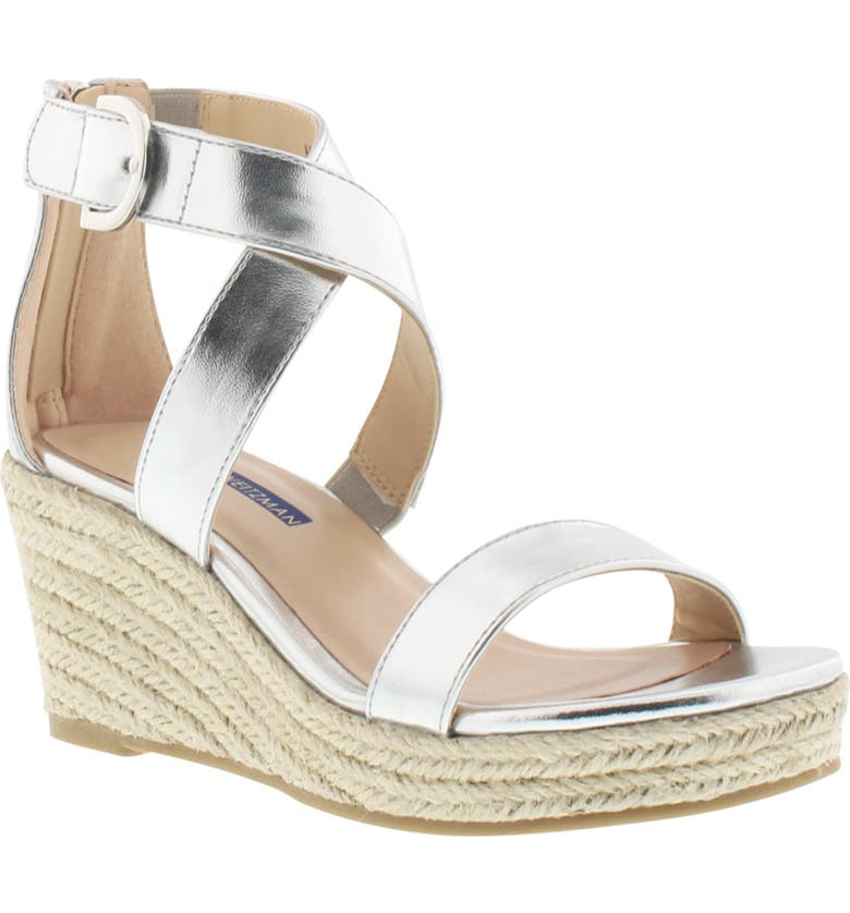 STUART WEITZMAN Akilah Amore Wedge Sandal, Main, color, 044