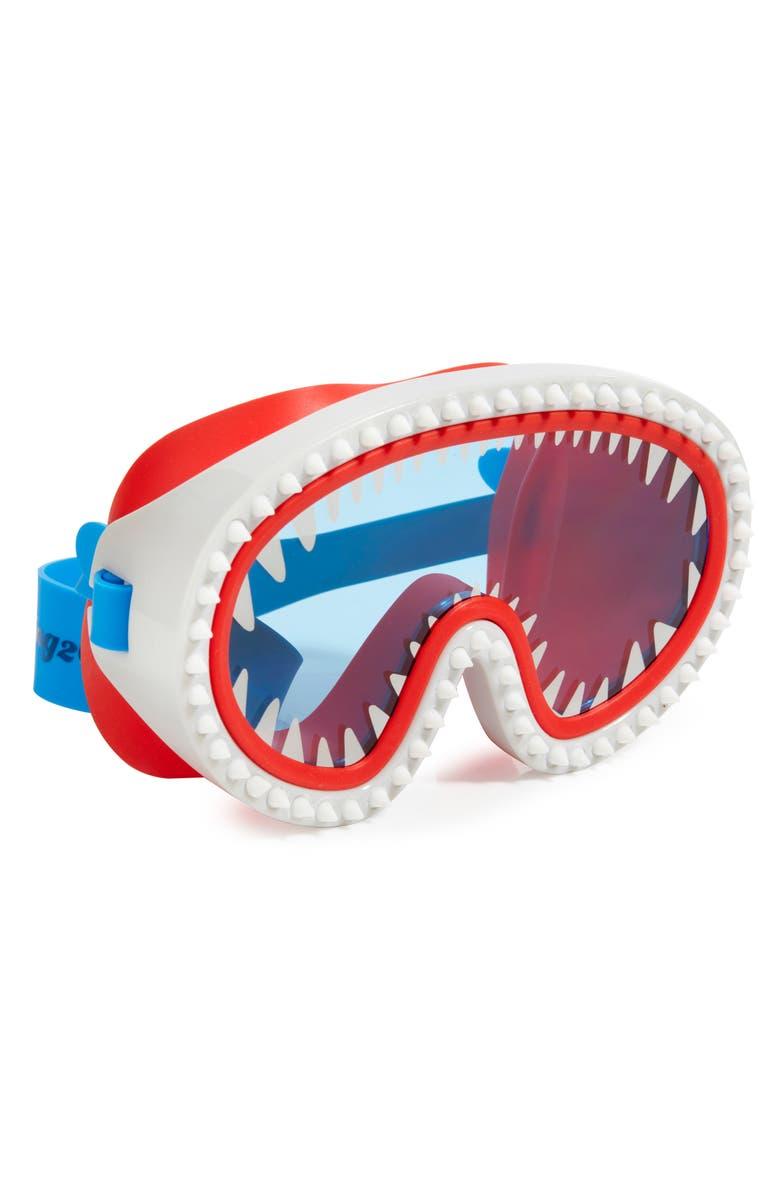 BLING2O Shark Attack Swim Mask, Main, color, 100
