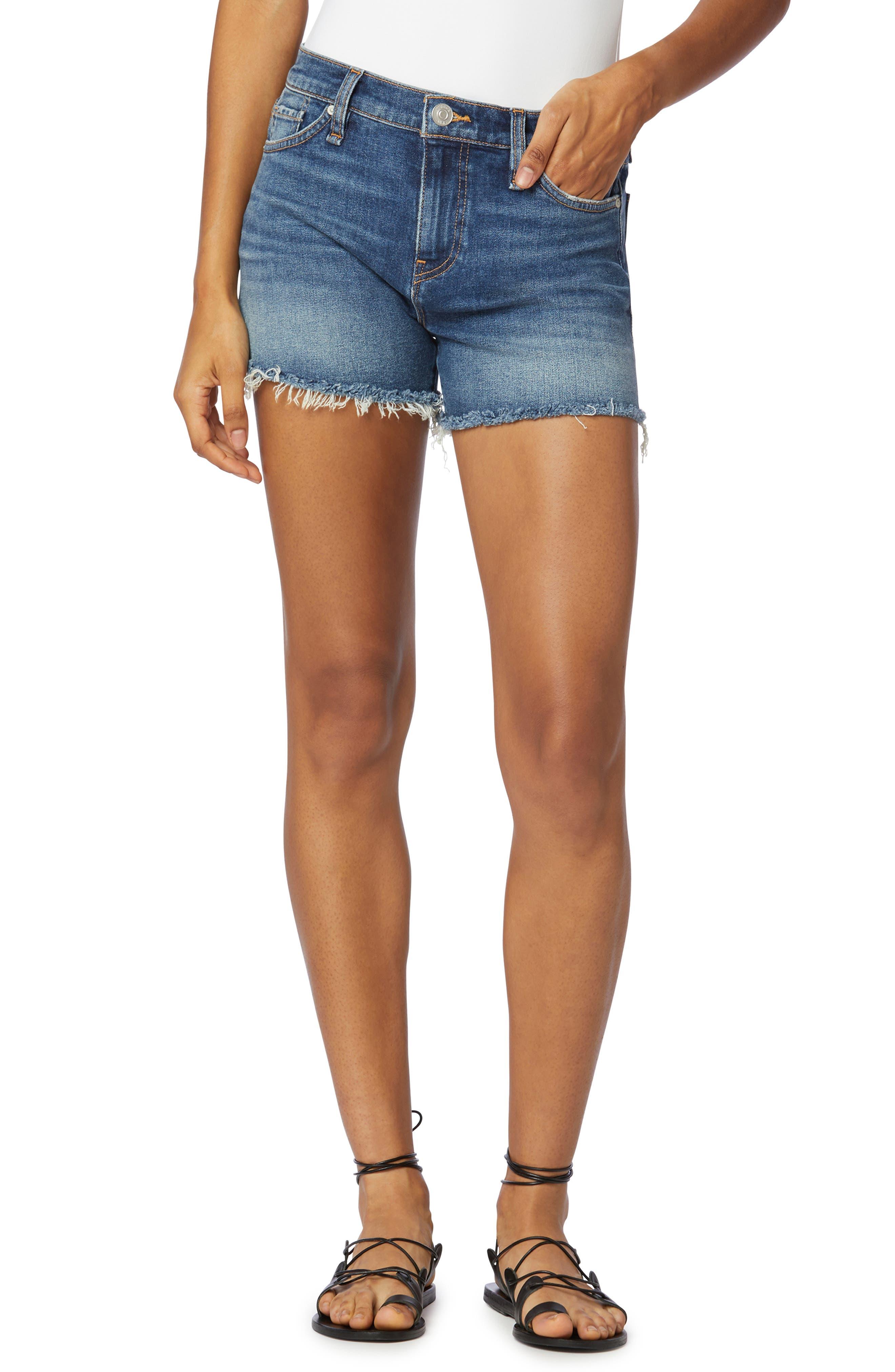 Gemma Cutoff Denim Shorts