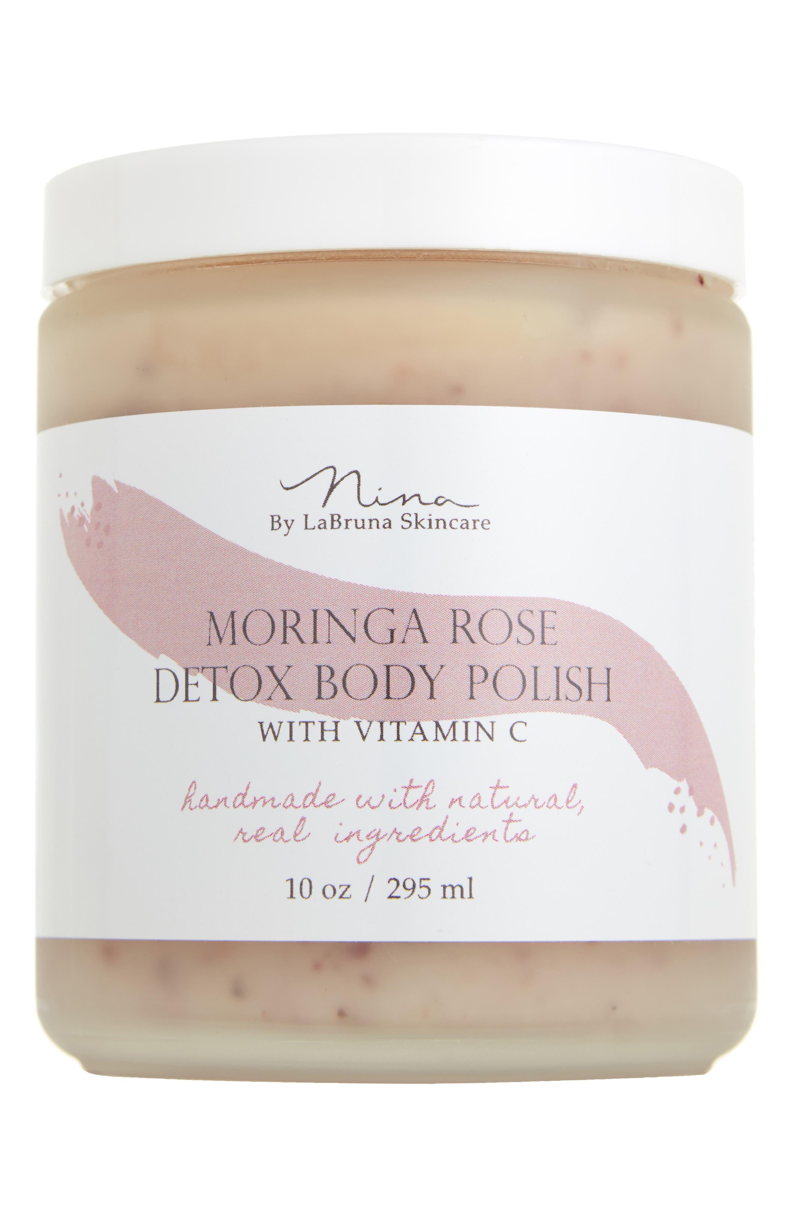 Skincare Moringa Rose Detox Body Polish