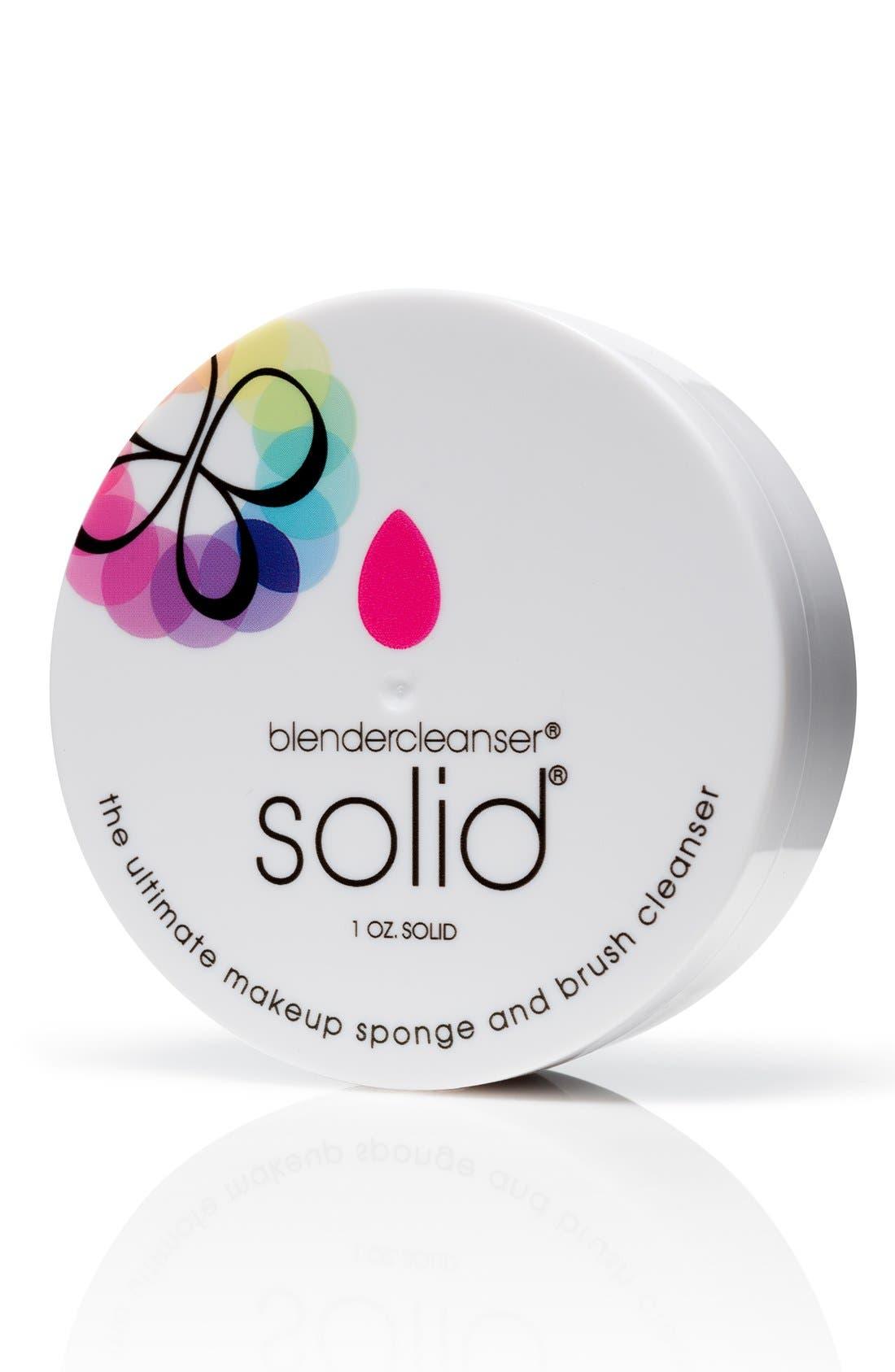 'blendercleanser<sup>®</sup> Solid<sup>™</sup>' Makeup Sponge Cleanser, Main, color, NO COLOR