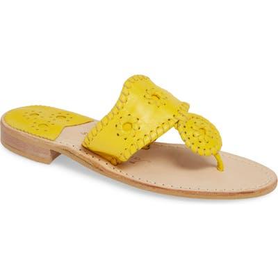 Jack Rogers Jacks Flip Flop, Yellow