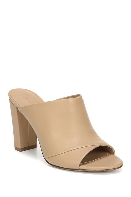 Image of Vince Winford-B Leather Block Heel Mule