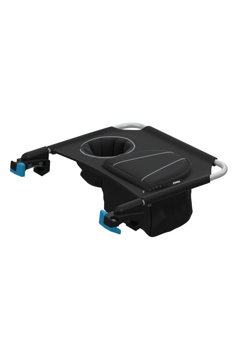 THULE Cup Holder Console for Thule Single Strollers, Main, color, BLACK