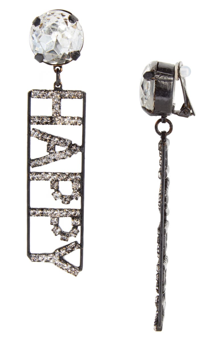 289baeb7a Ashley Williams Happy Crystal Statement Earrings (Nordstrom ...