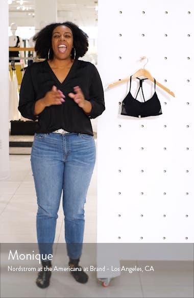 Cabana Cotton Scoop Neck Bralette, sales video thumbnail