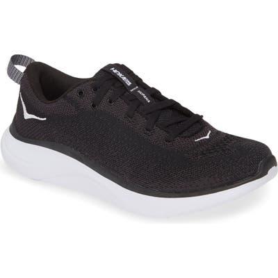 Hoka One One Hupana Flow Athletic Shoe, Black