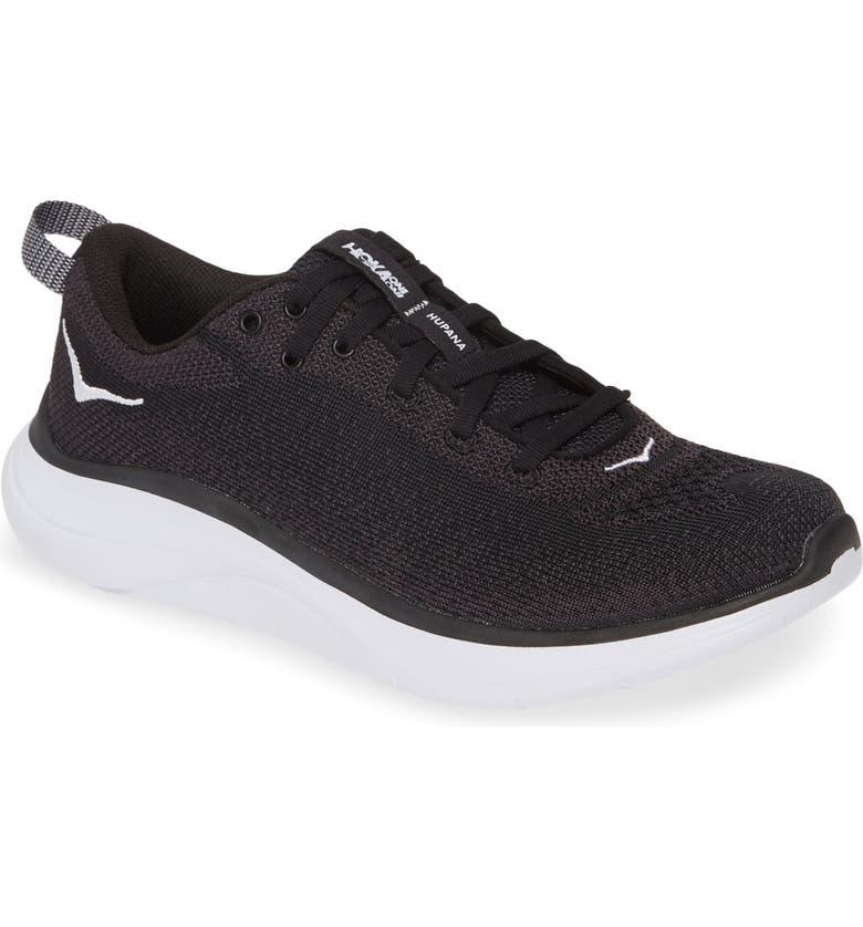 HOKA ONE ONE Hupana Flow Athletic Shoe, Main, color, BLACK / DARK SHADOW