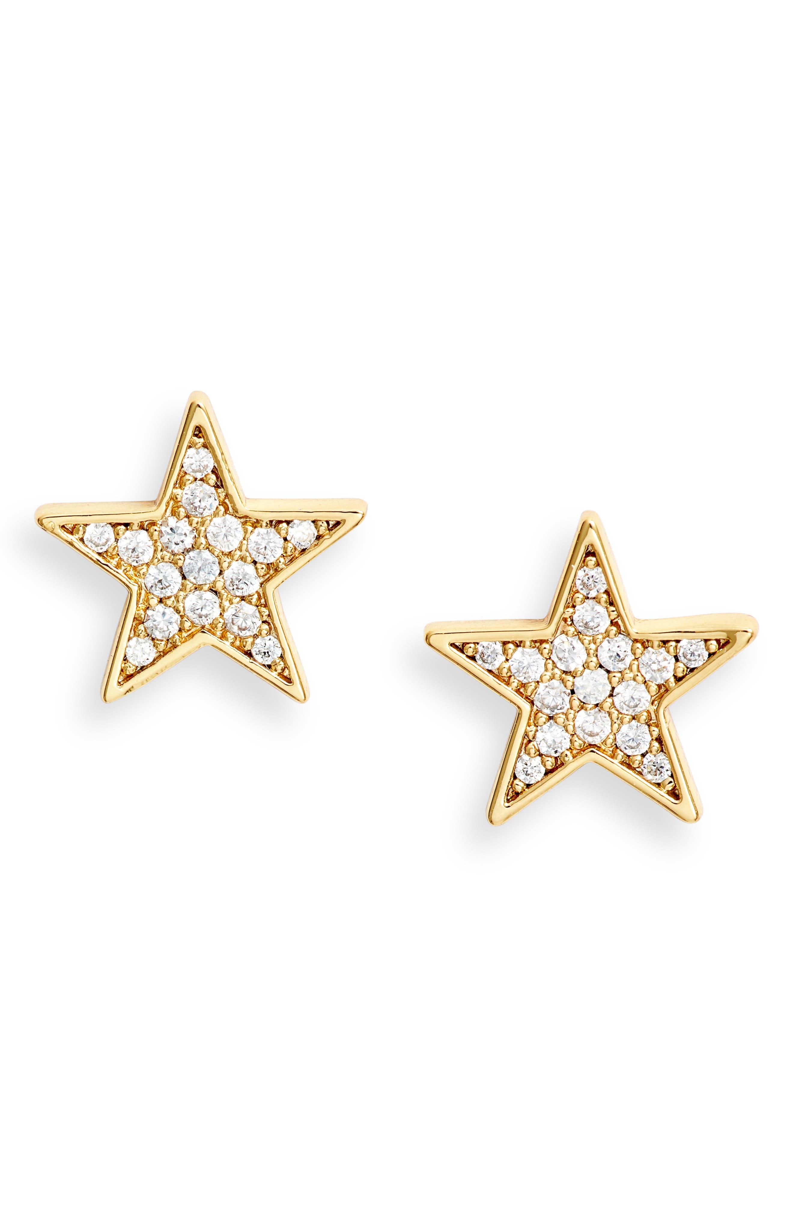 Image of Gorjana Super Star Shimmer Stud Earrings