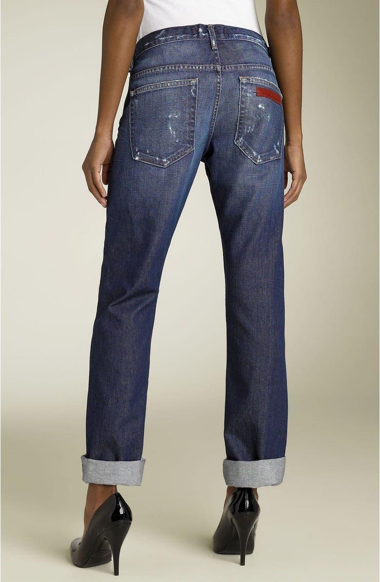 D'EGAINE Degaine Boyfriend Jeans, Main, color, 460