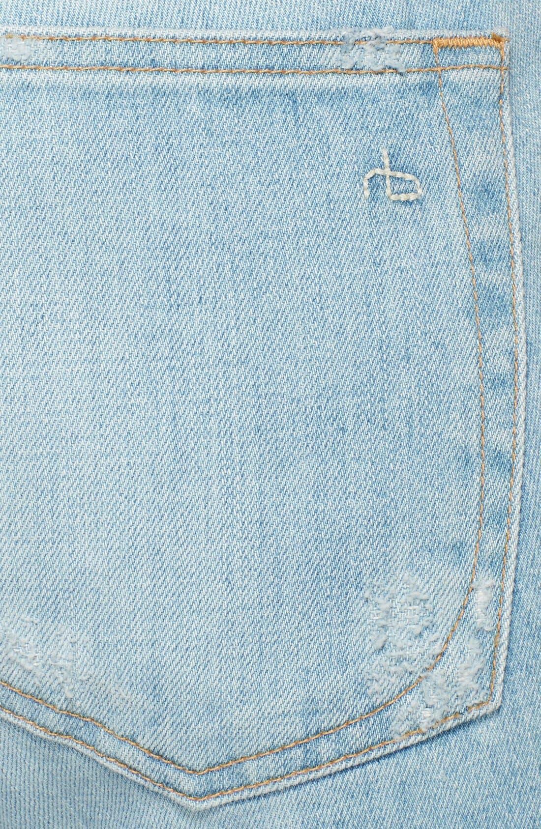,                             /JEAN 'The Dre' Destructed Jeans,                             Alternate thumbnail 2, color,                             400