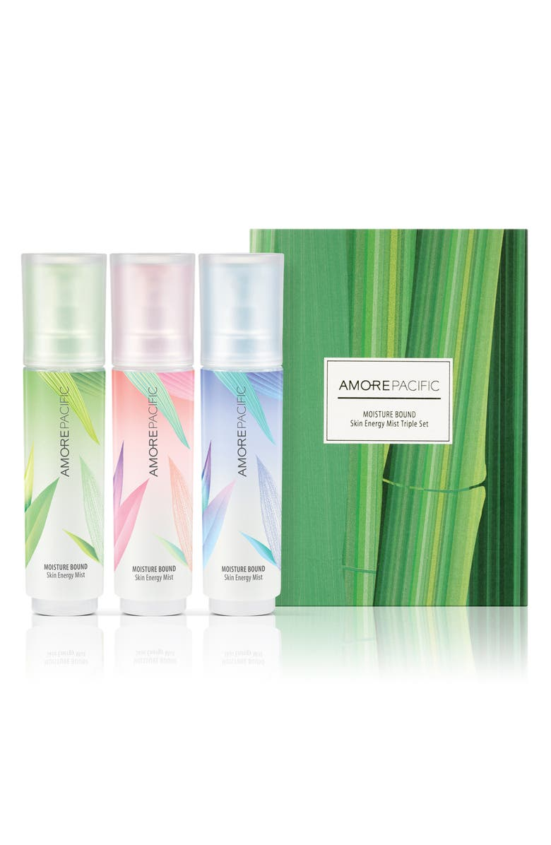 AMOREPACIFIC Moisture Bound Skin Energy Mist Trio, Main, color, NO COLOR