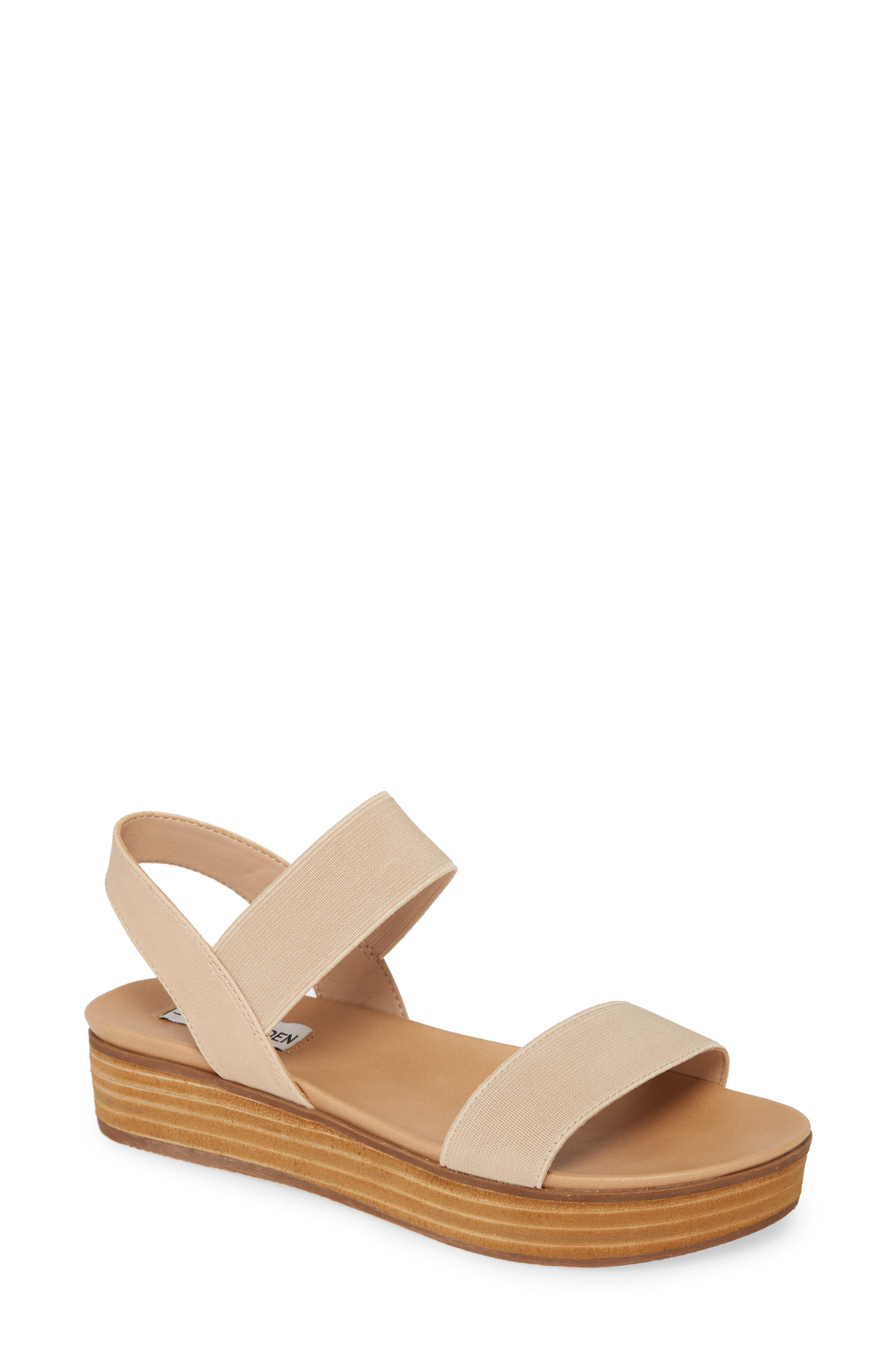 Steve Madden Agile Platform Sandal (Women)