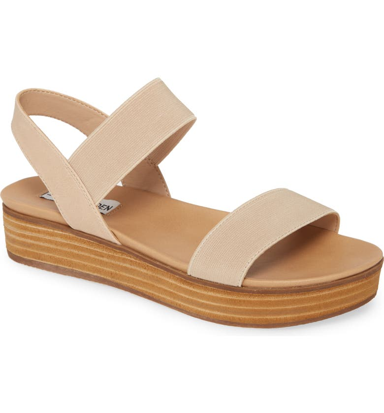 STEVE MADDEN Agile Platform Sandal, Main, color, BLUSH