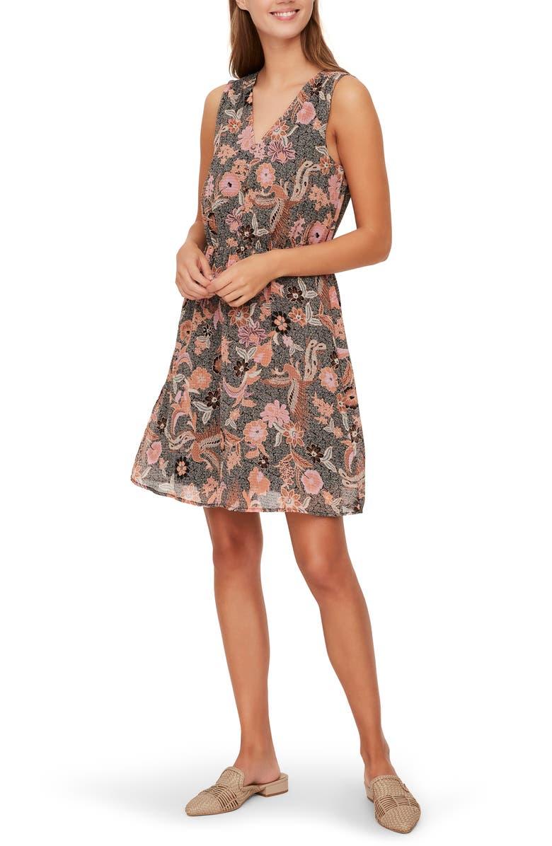 VERO MODA Nuka Sleeveless Dress, Main, color, CARNELIAN