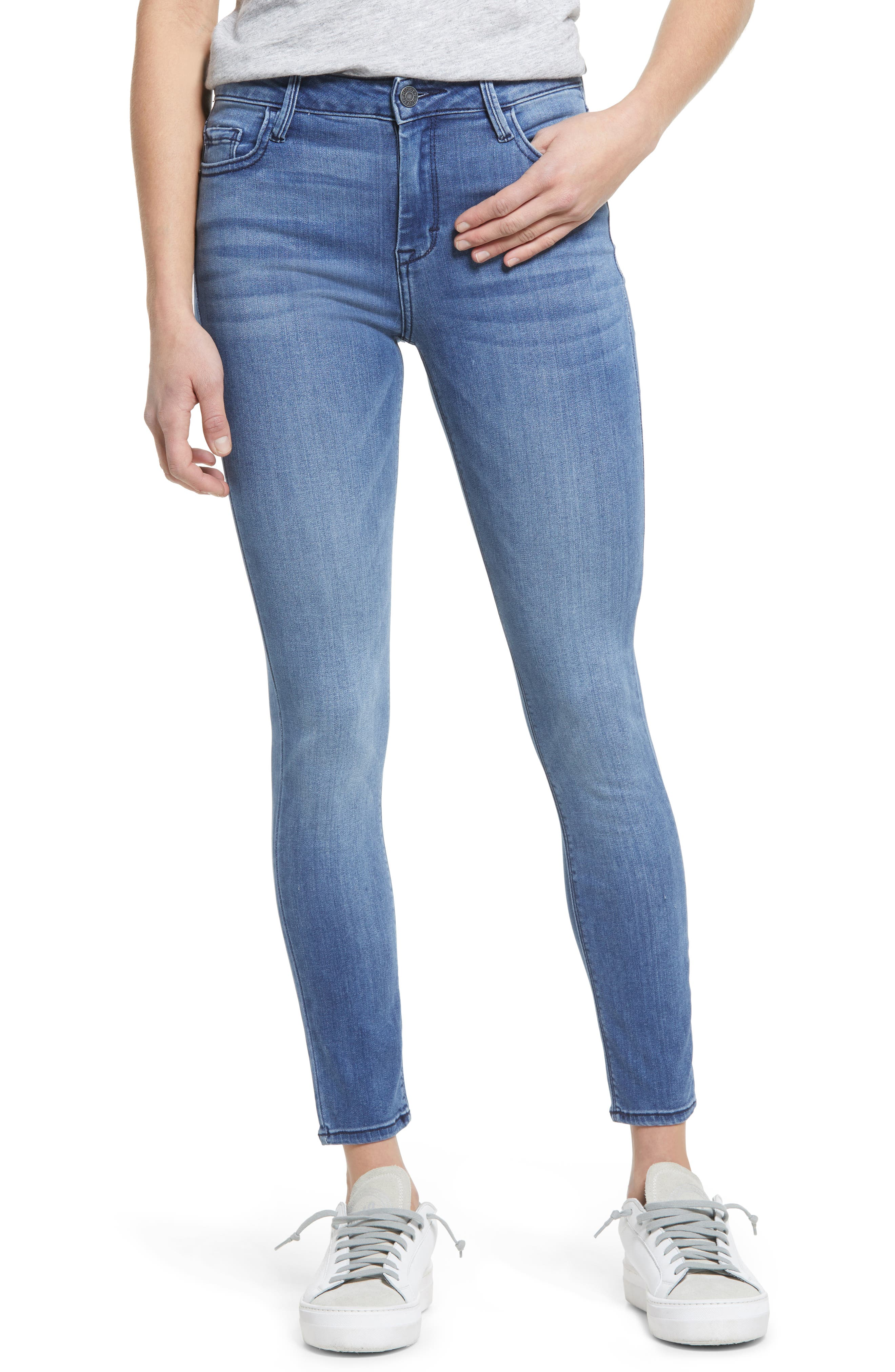 Clean Classic Stretch Ankle Skinny Jeans