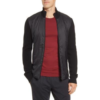 Icebreaker Lumista Merinoloft(TM) Hybrid Sweater Jacket, Black