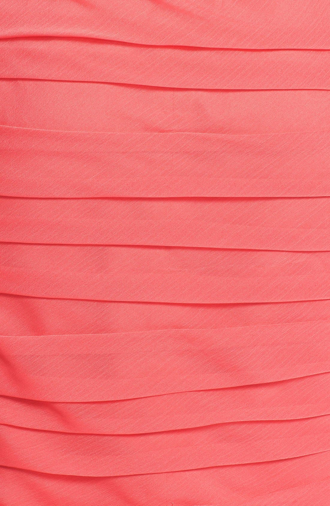 ,                             Ruched Strapless Cationic Chiffon Dress,                             Alternate thumbnail 77, color,                             805
