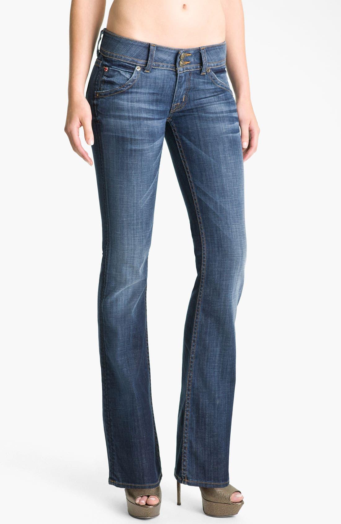 ,                             Signature Flap Pocket Bootcut Jeans,                             Main thumbnail 91, color,                             499