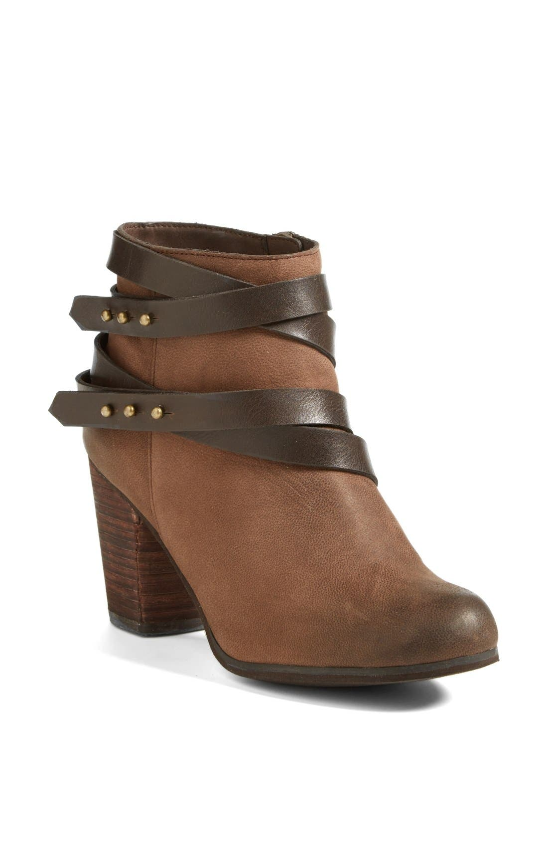 ,                             'Train' Wrap Belted Bootie,                             Main thumbnail 15, color,                             206