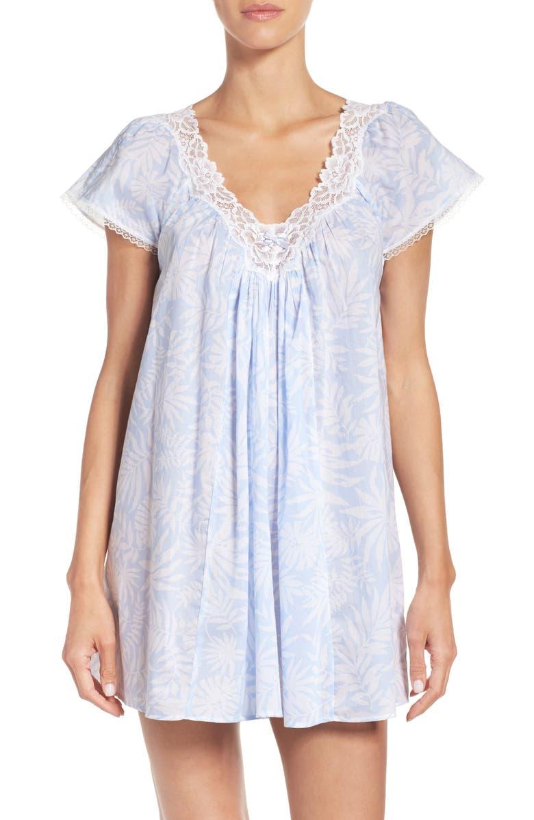 OSCAR DE LA RENTA Sleepwear Short Nightgown, Main, color, 483