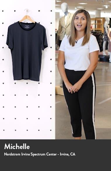 Crewneck Peruvian Pima Cotton T-Shirt, sales video thumbnail
