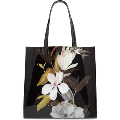 Ted Baker London Large Rumacon Opal Icon Tote - Black