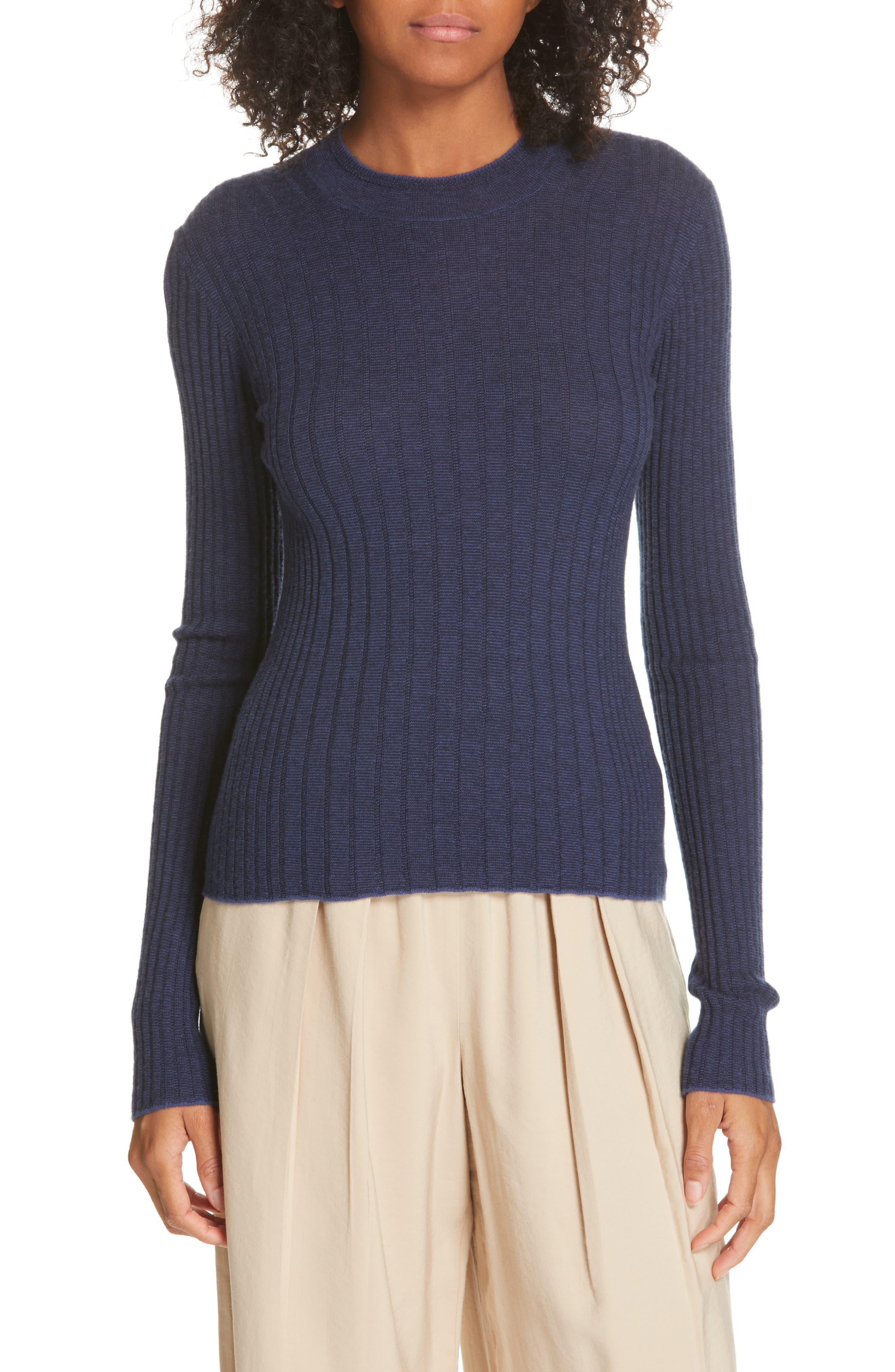 ,                             Mixed Rib Stitch Sweater,                             Main thumbnail 8, color,                             400