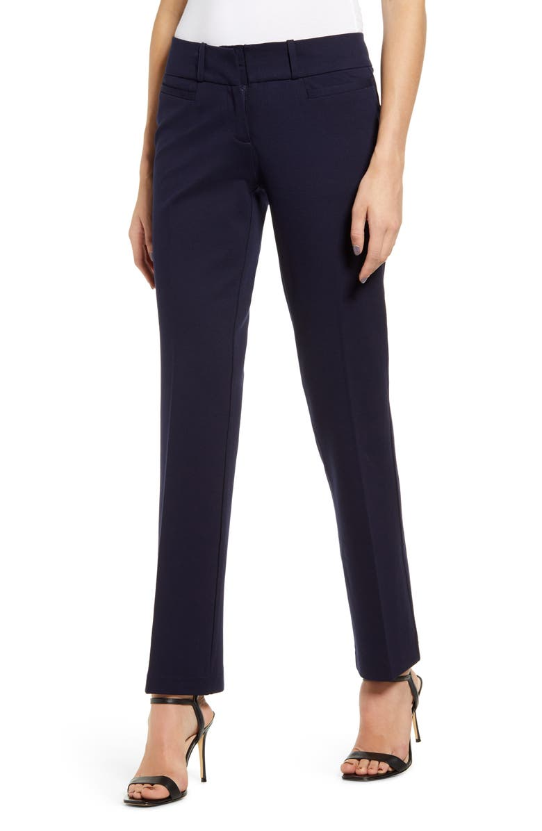 SENTIMENTAL NY Jane Brown Trousers, Main, color, NAVY