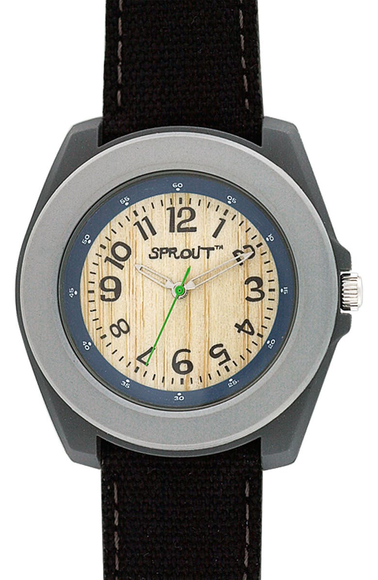 SPROUT<SUP>™</SUP> WATCHES Organic Round Case Watch, Main, color, 020