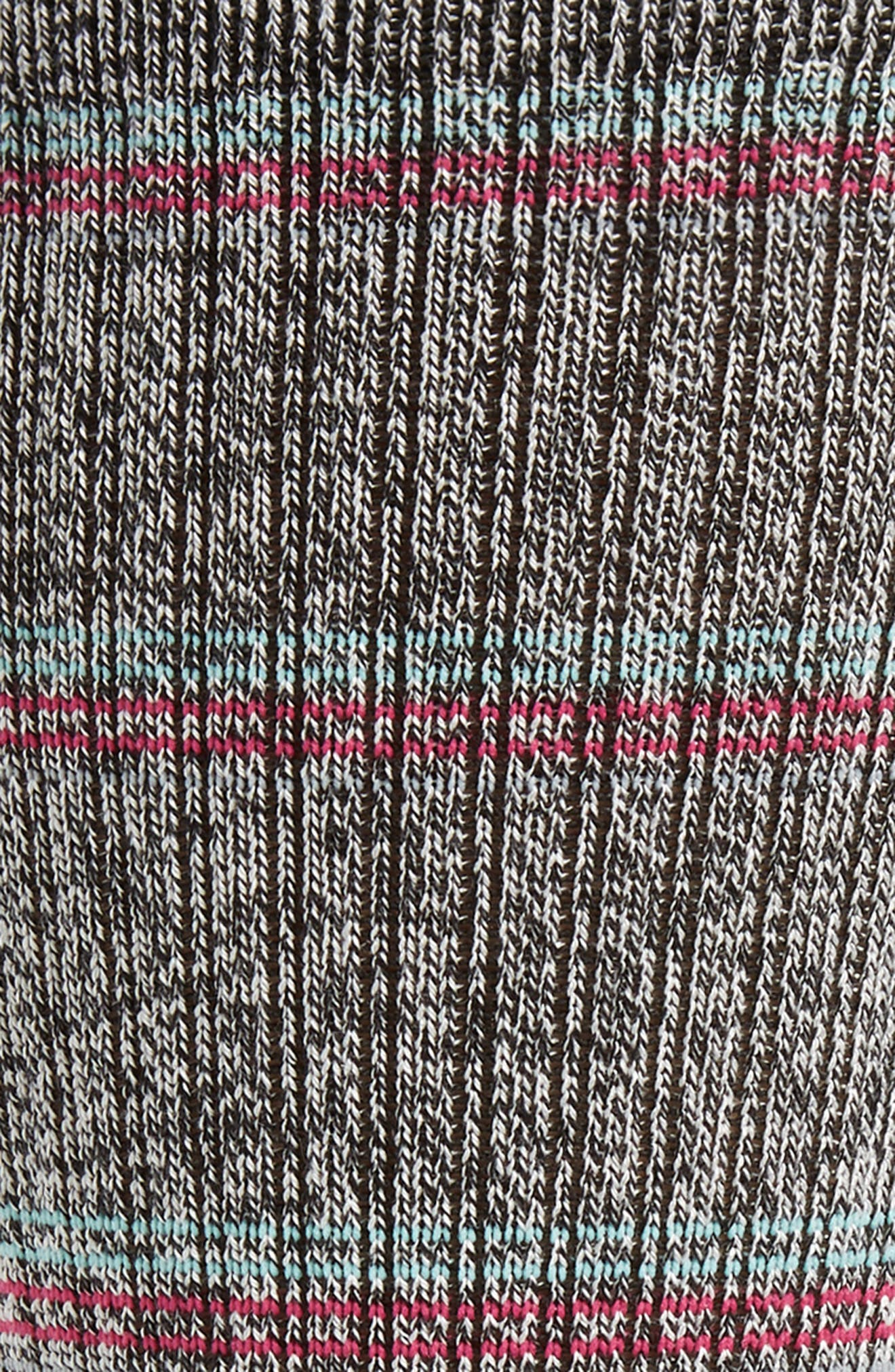 ,                             Saguaro Crew Socks,                             Alternate thumbnail 2, color,                             BLACK