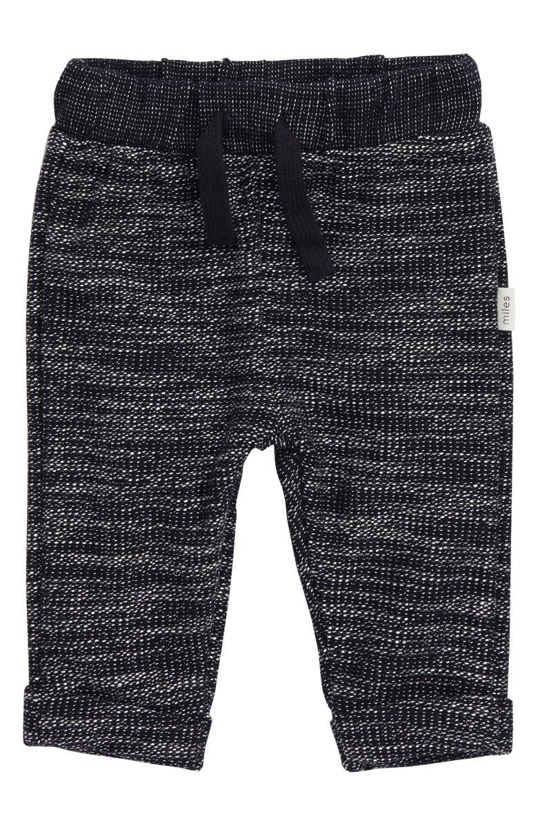 MILES baby Knit Jogger Pants, Main, color, 410