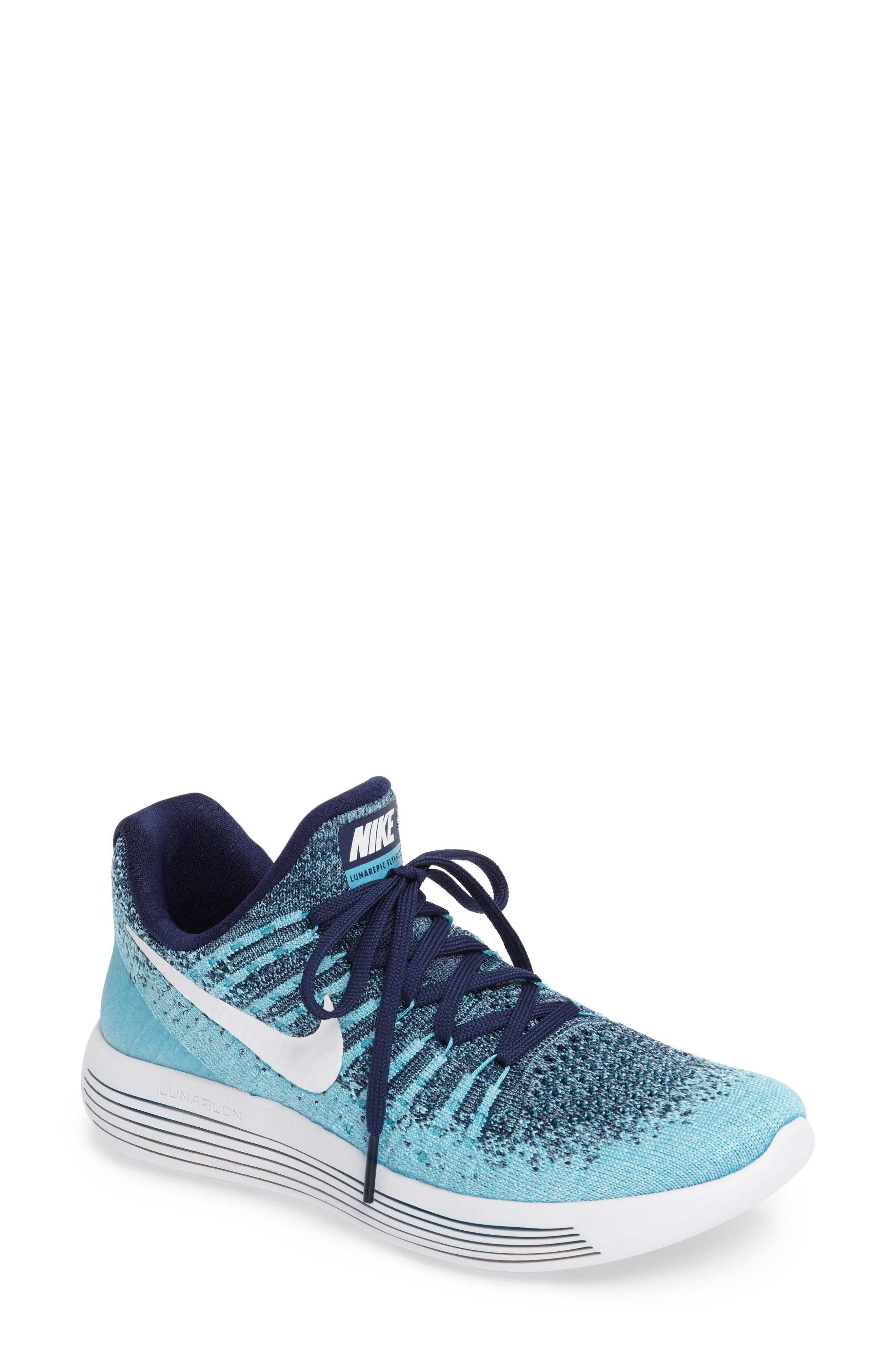 ,                             LunarEpic Low Flyknit 2 Running Shoe,                             Main thumbnail 71, color,                             402