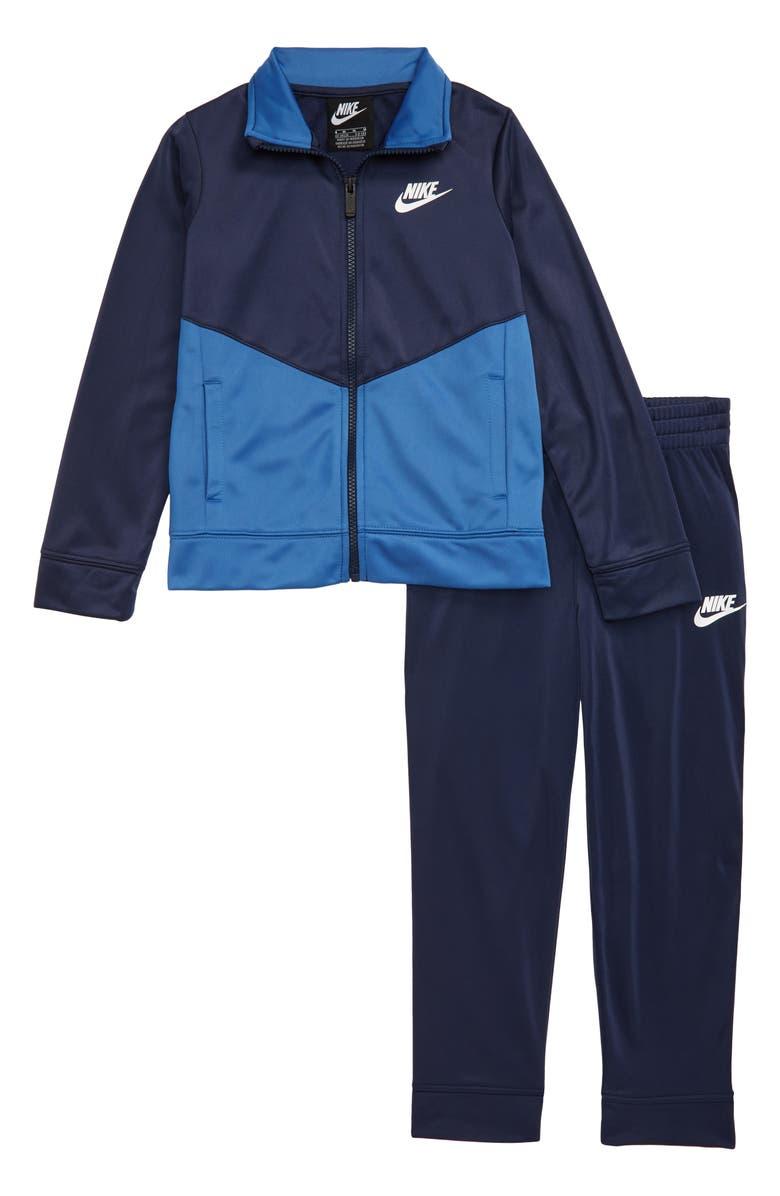 NIKE Zip Jacket & Sweatpants Set, Main, color, 416