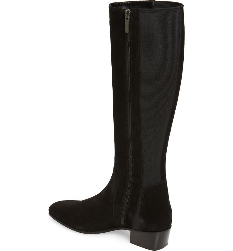 AQUATALIA Flore Tall Weatherproof Boot, Alternate, color, BLACK