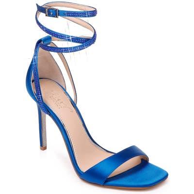 Jewel Badgley Mischka Shaylee Crystal Embellished Sandal- Blue