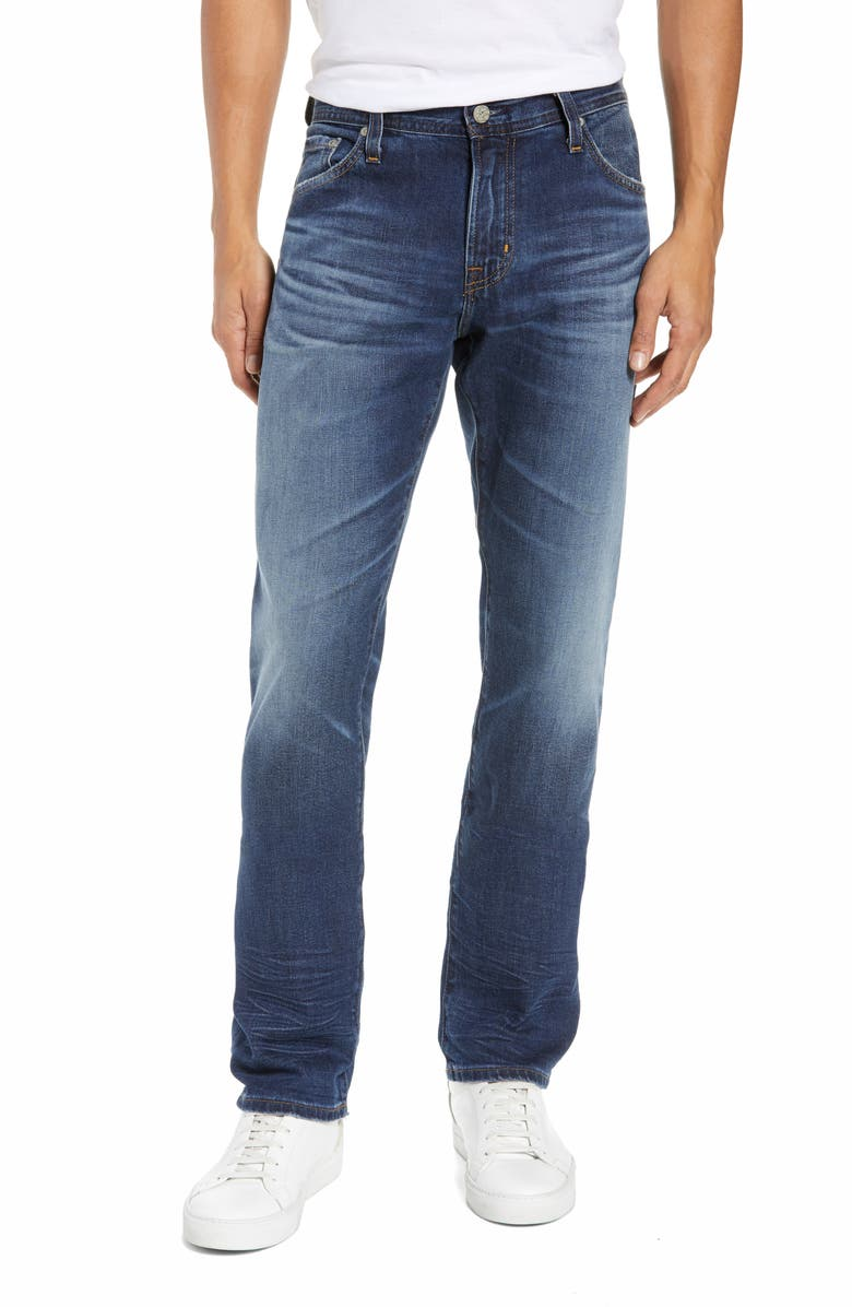 AG Graduate Slim Straight Leg Jeans, Main, color, 476