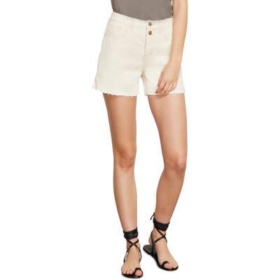 Habitual Maddie Denim Shorts, Ivory