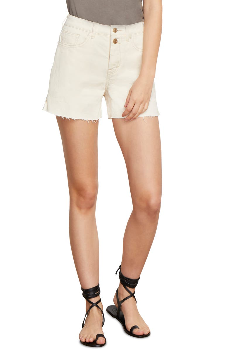 HABITUAL Maddie Denim Shorts, Main, color, NATURAL