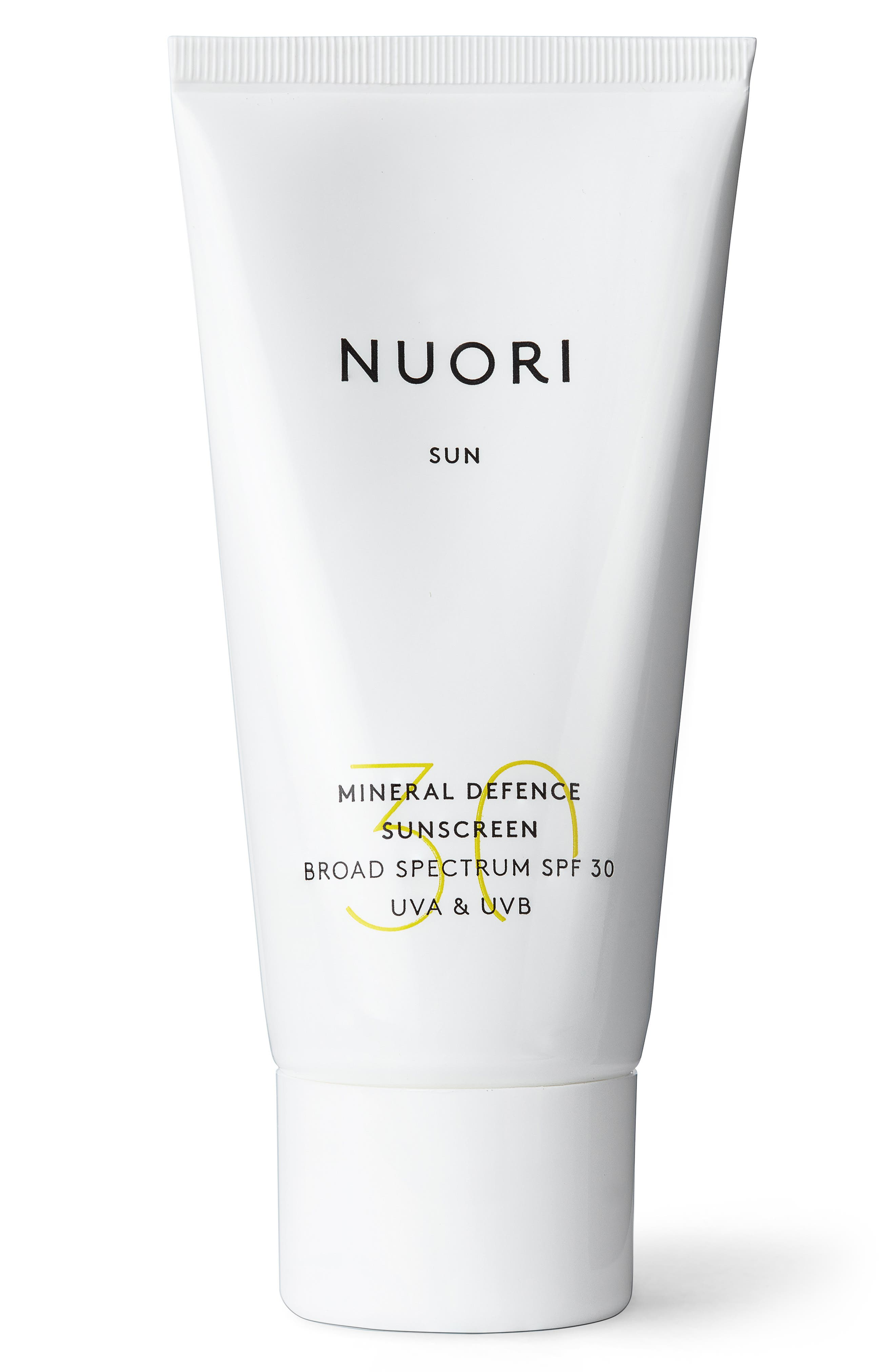 What it is: An all-natural sunscreen that delivers broad-spectrum protection against both UVA and UVB rays. What it does: A new generation of transparent, non-nano zinc oxide ensures high protection with a soft, sensory feel and sheer, non-sticky finish, making this sunscreen ideal for everyday usage. French maritime pine extract helps inhibit oxidative stress induced by pollutants, sunburn and photoaging and helps reduce hyper-pigmentation and